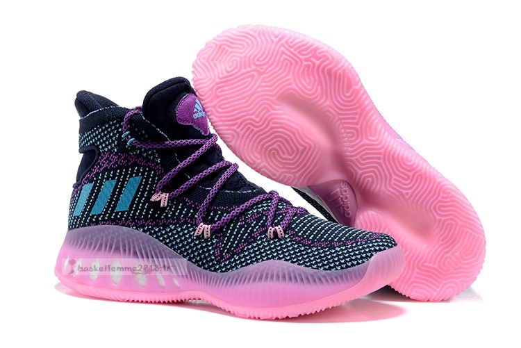 Adidas Crazy Explosive Primeknit Marine Rose Orange Chaussure de Basket