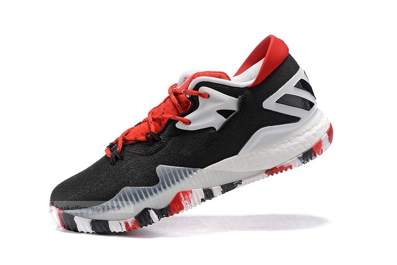 Adidas Crazylight Boost Noir Blanc Rouge Chaussure de Basket