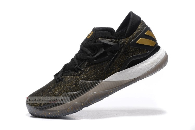 Adidas Crazylight Boost Noir Or Chaussure de Basket