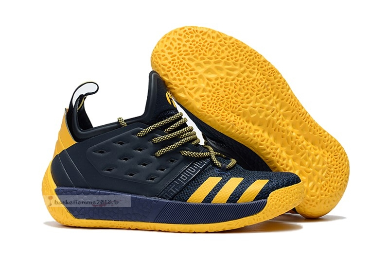 Adidas Harden Vol. 2 Black Yellow Chaussure de Basket