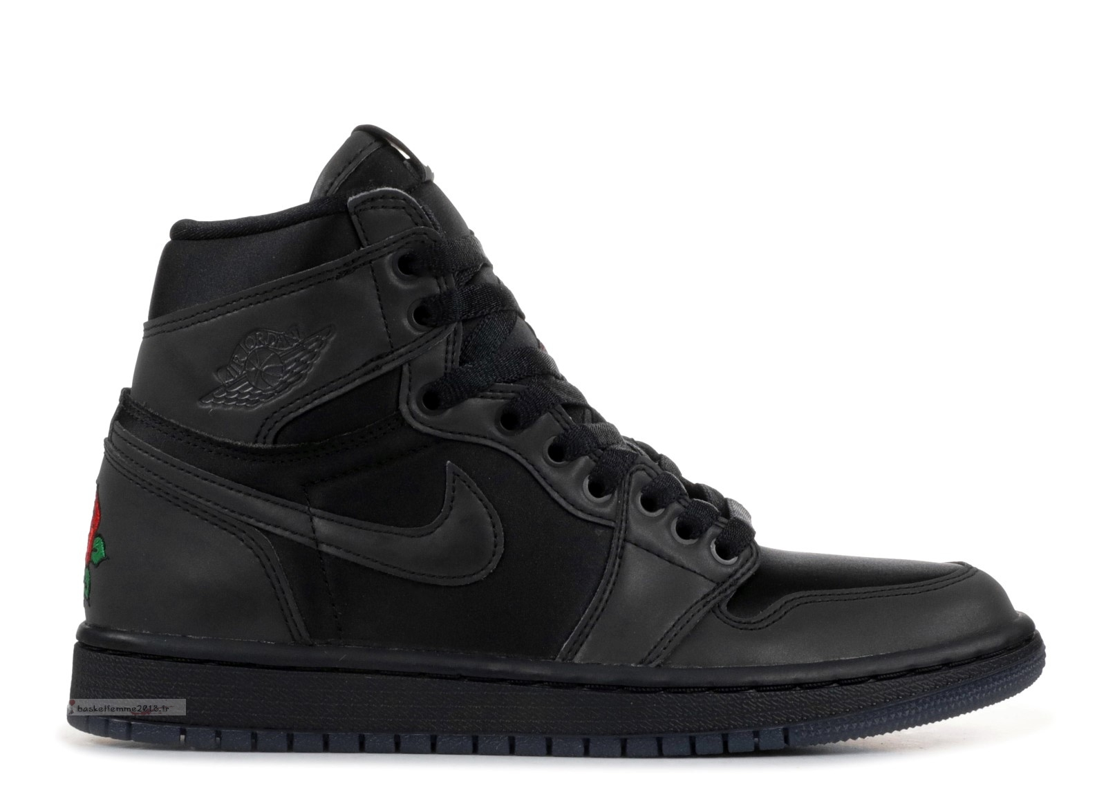 "Air Jordan 1 Femme Retro High ""Rox Brown"" Noir (bv1576-001) Chaussure de Basket"