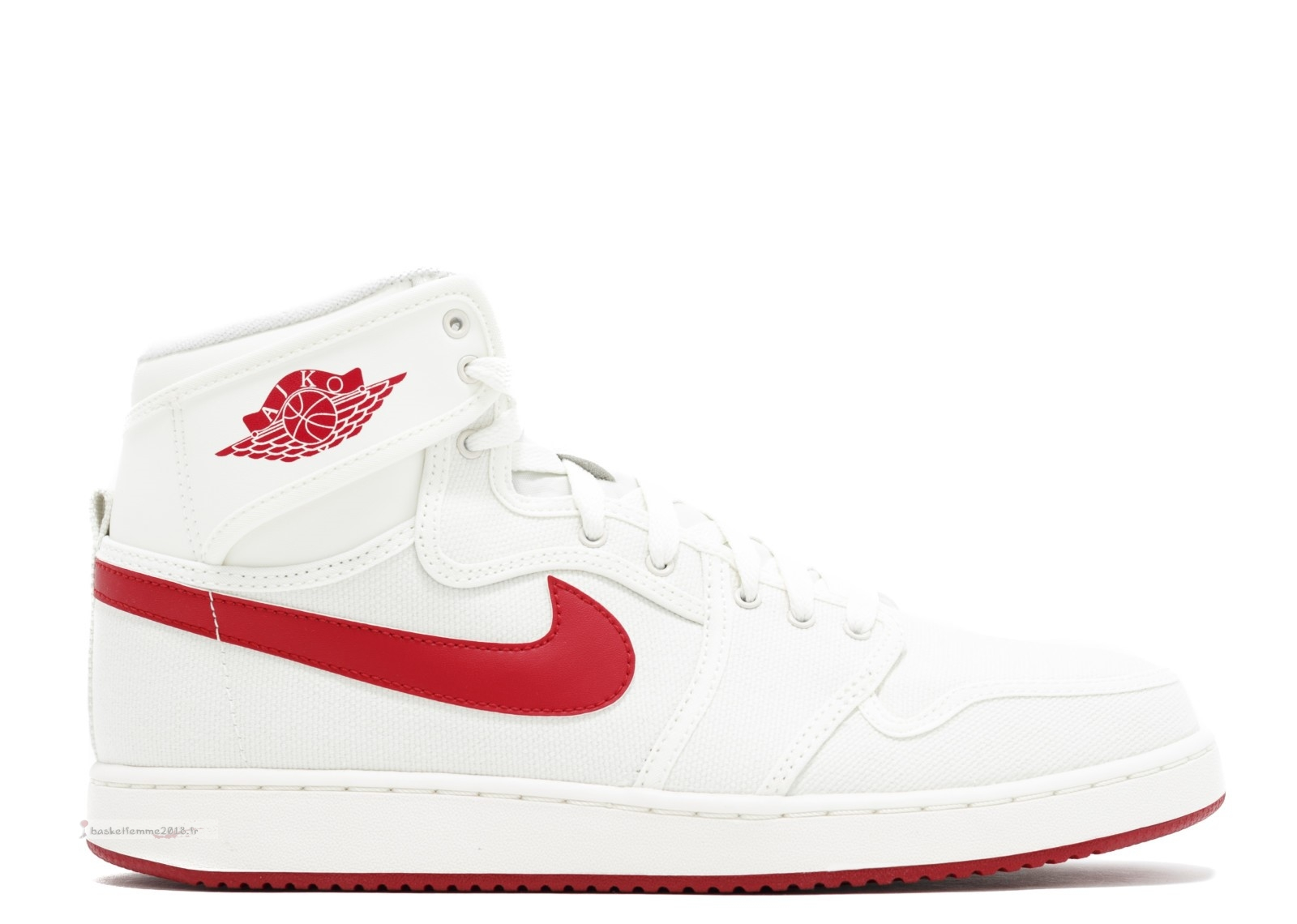 "Air Jordan 1 Ko High Og ""Sail Ajko"" Blanc Rouge (638471-102) Chaussure de Basket"