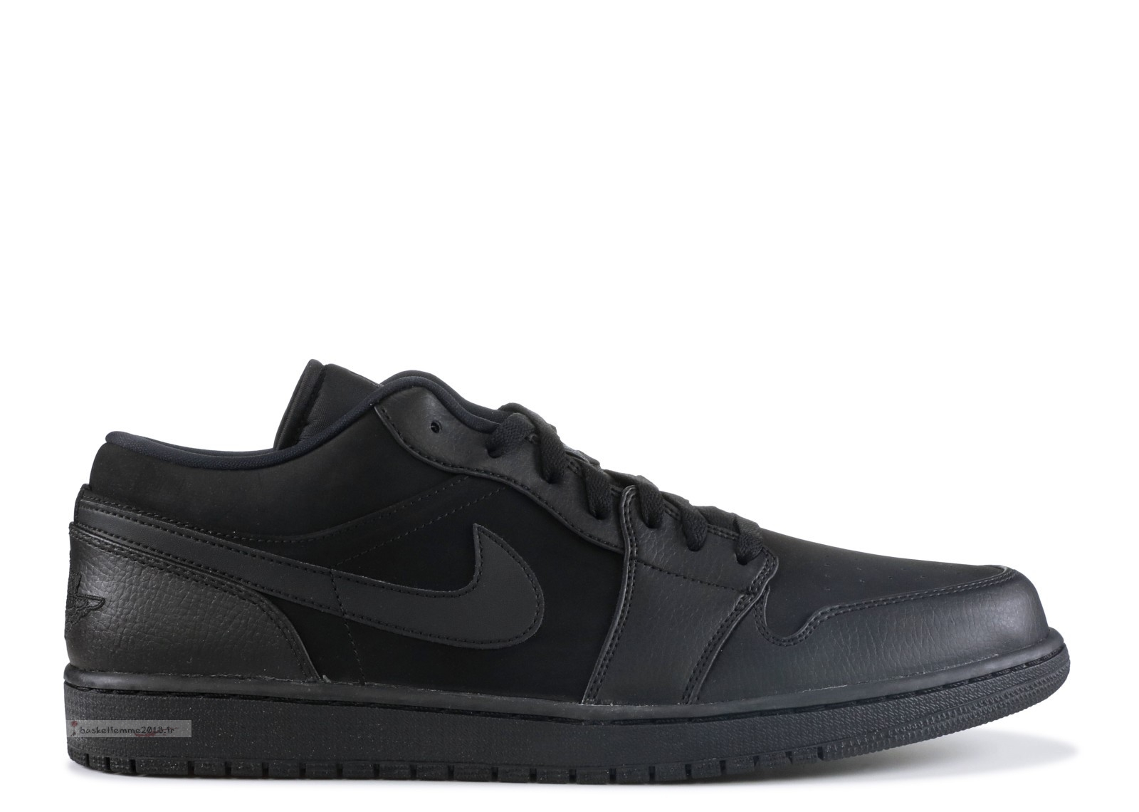 Air Jordan 1 Low Noir (553558-011) Chaussure de Basket