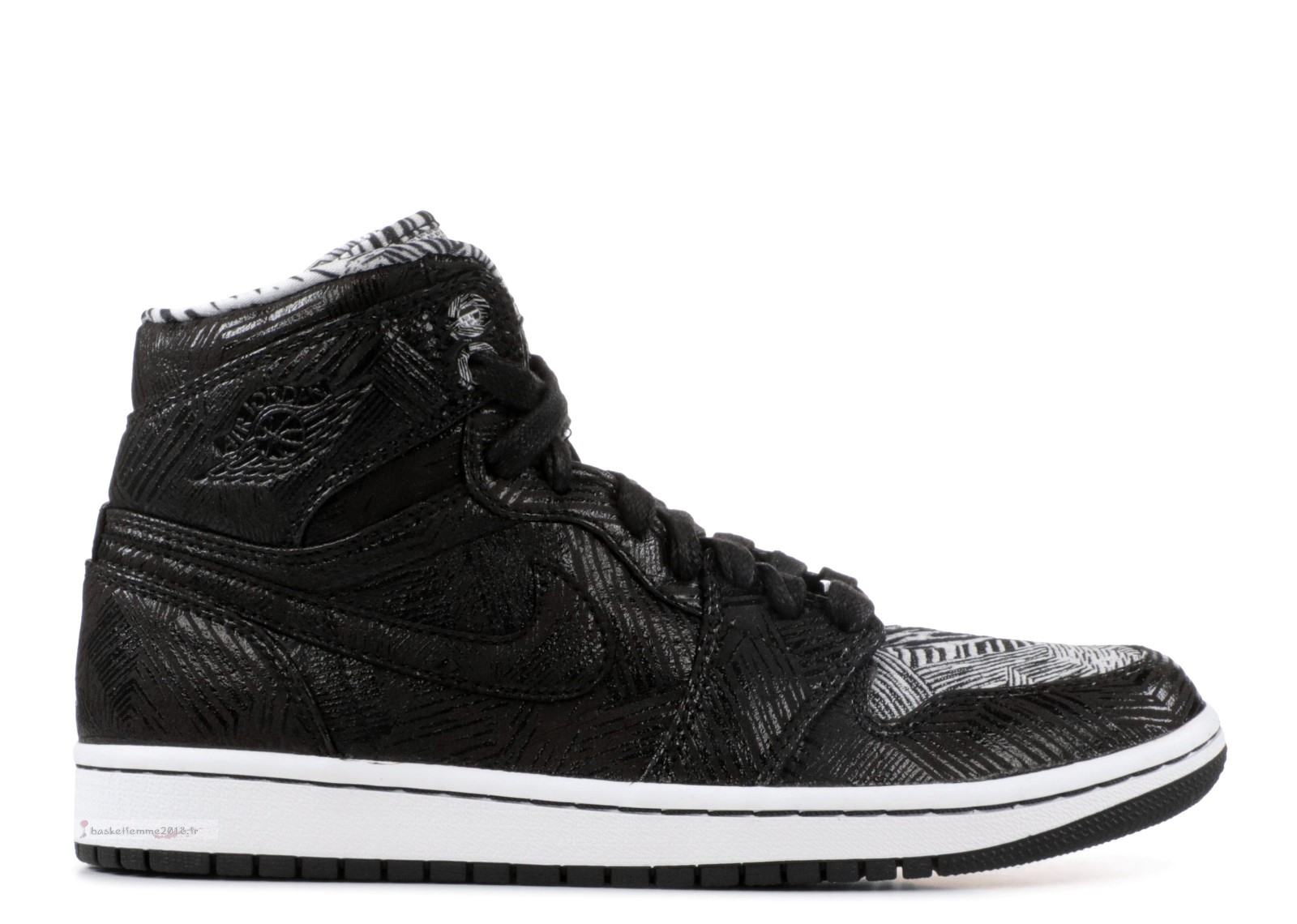 Air Jordan 1 Retro High Bhm Noir (579591-010) Chaussure de Basket