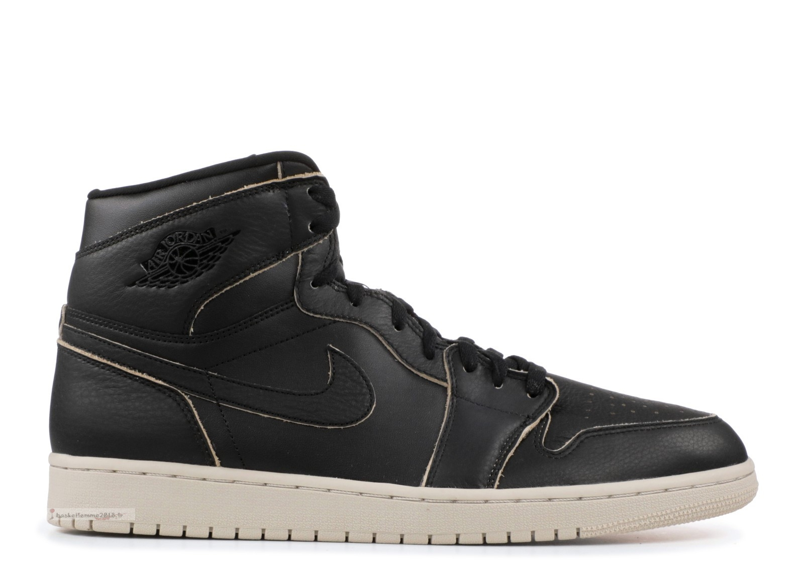 Air Jordan 1 Retro High Prem Noir (aa3993-021) Chaussure de Basket