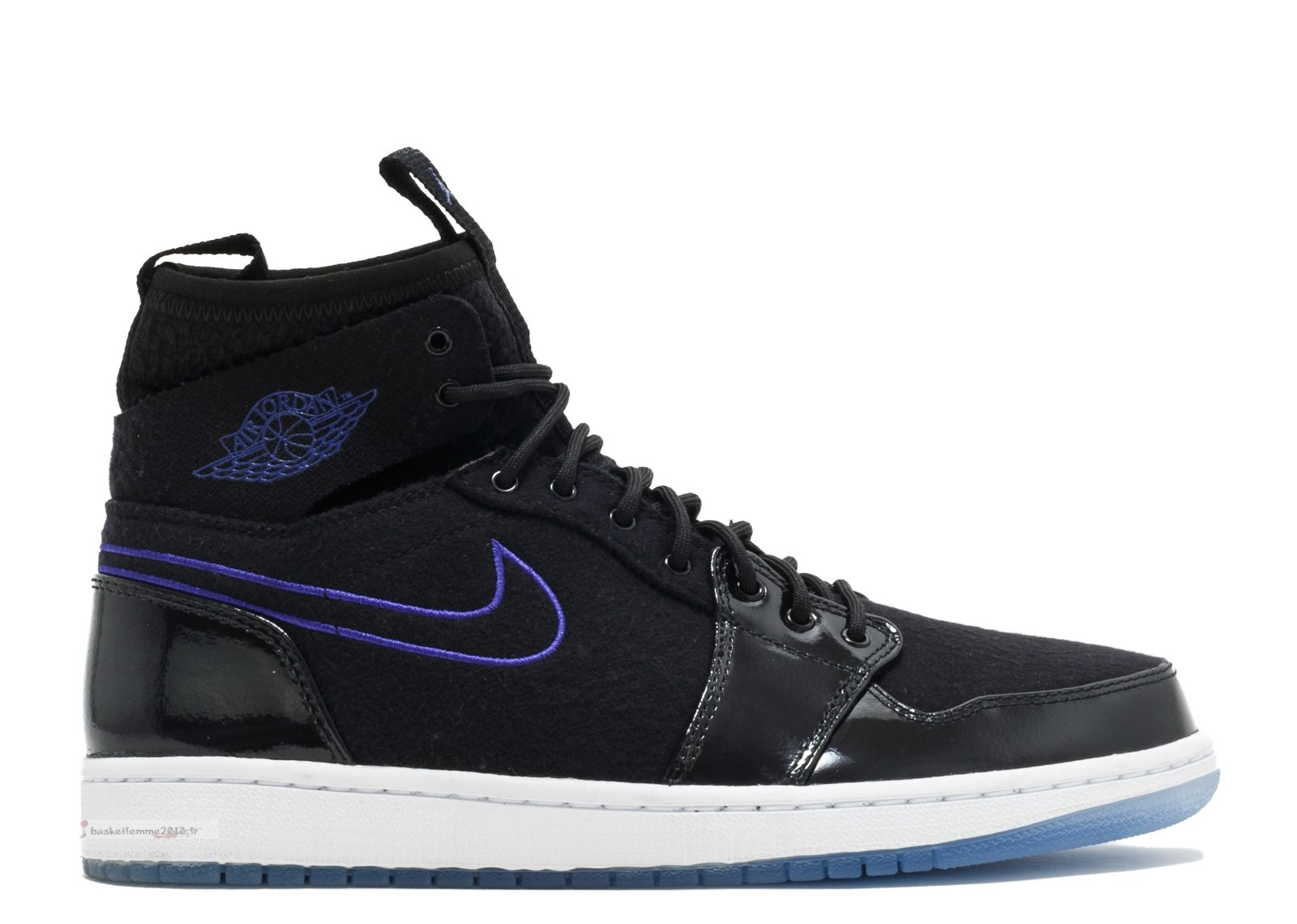 "Air Jordan 1 Retro Ultra High ""Space Jam"" Black Concord Black White (844700-002) Chaussure de Basket"