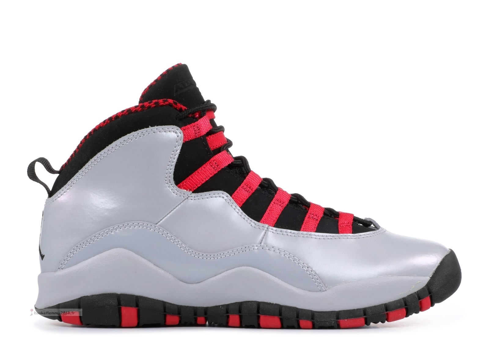 Air Jordan 10 Retro (Gs) Gris (487211-009) Chaussure de Basket