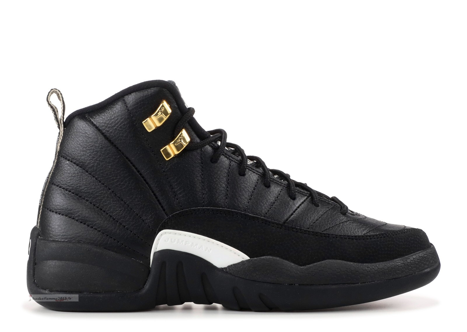 "Air Jordan 12 Retro Bg (Gs) ""The Master"" Noir Or (153265-013) Chaussure de Basket"