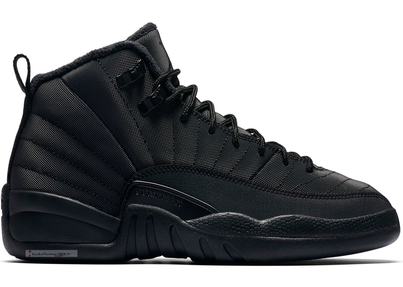 Air Jordan 12 Retro Winter Noir (Gs) Noir (bq6852-001) Chaussure de Basket