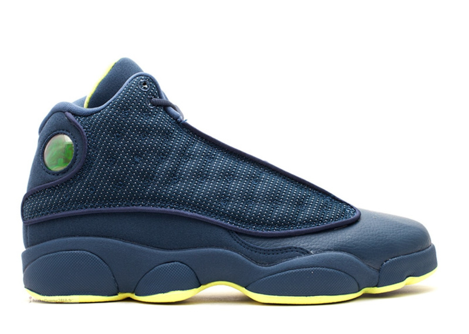 Air Jordan 13 Retro (Gs) Marine Jaune (414574-405) Chaussure de Basket