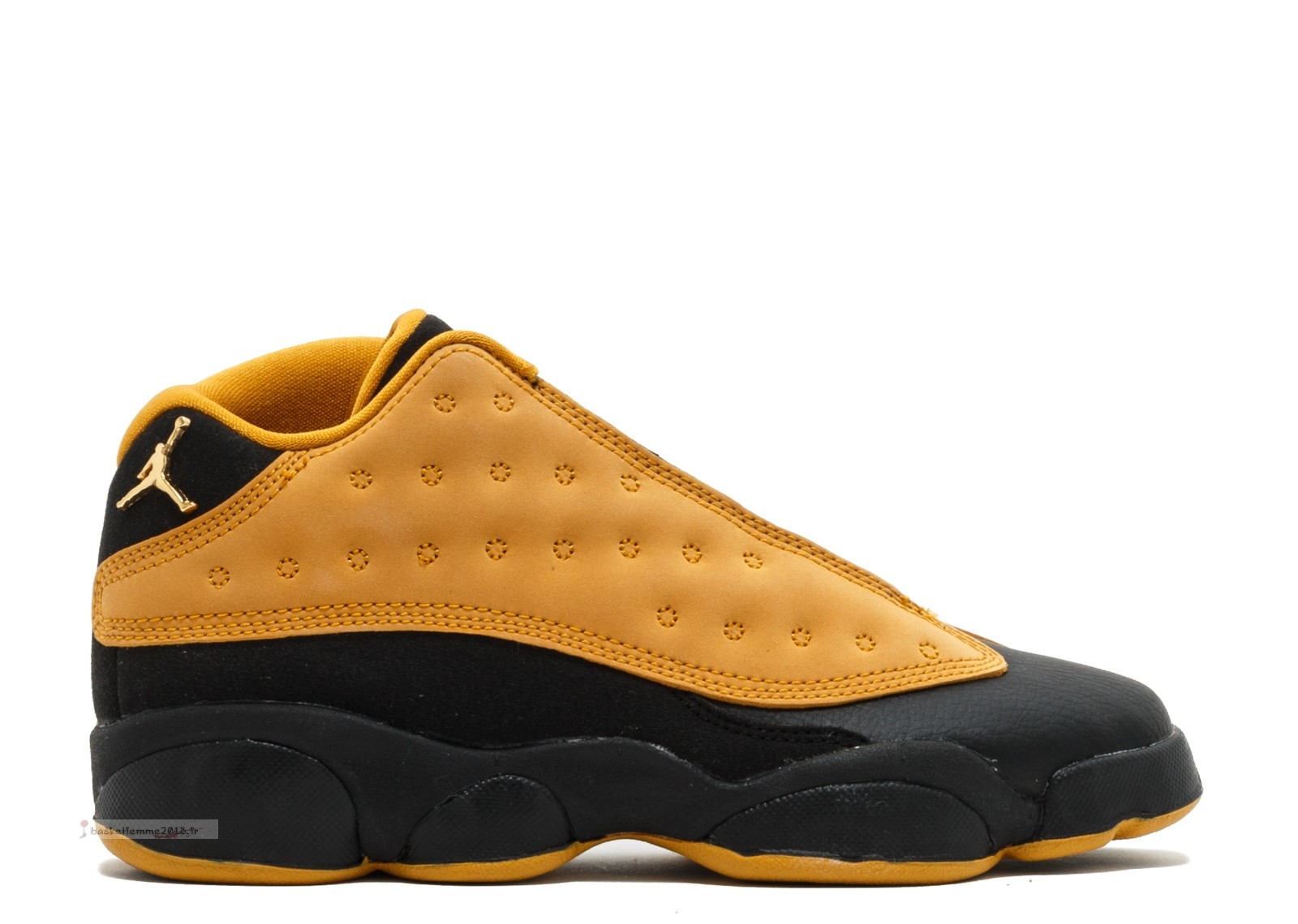 "Air Jordan 13 Retro Low (Gs) ""Chutney"" Marron Noir (310811-022) Chaussure de Basket"