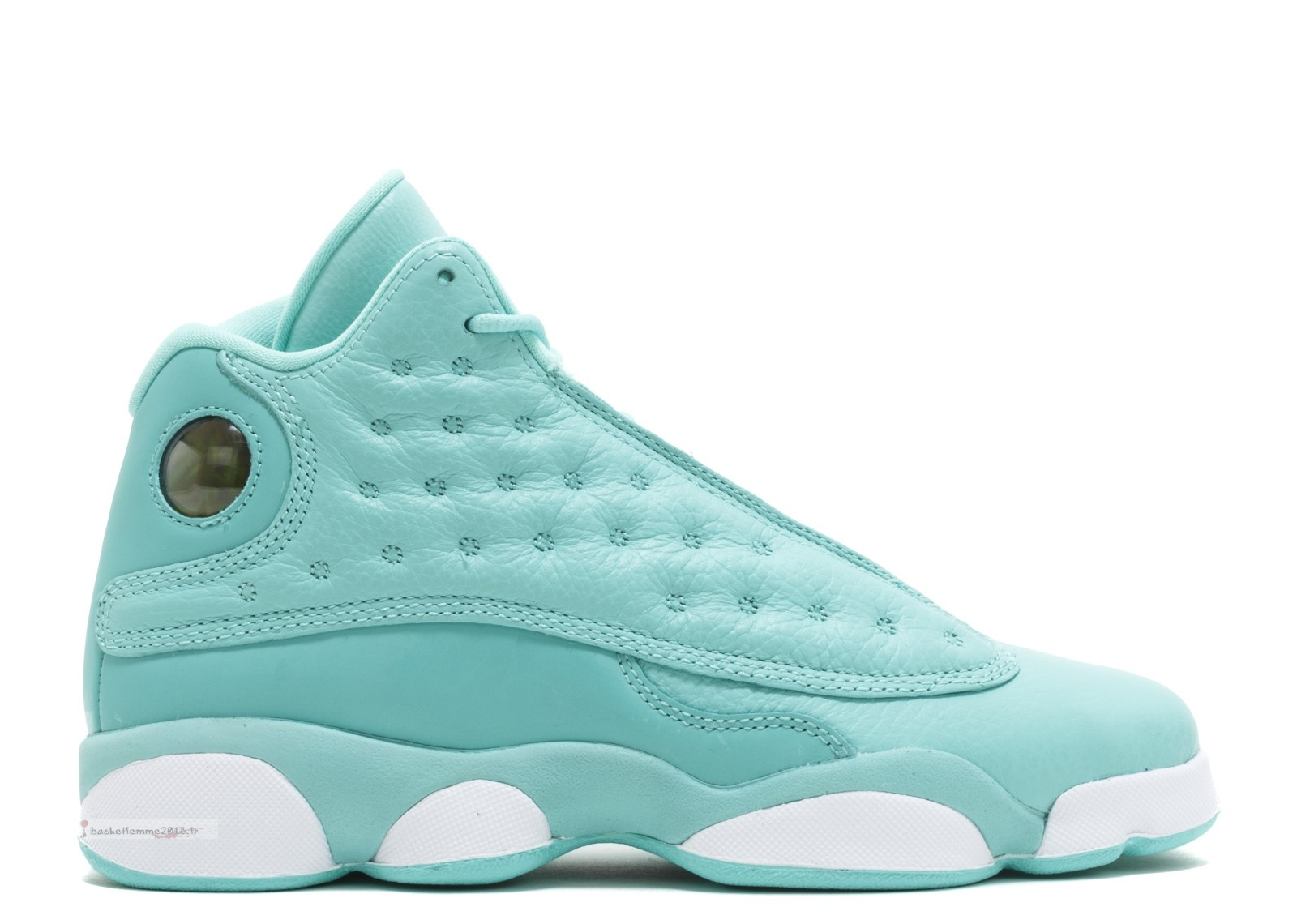 "Air Jordan 13 Retro Sngl Dy (Gs) ""Single Day"" Menthe Blanc (888165-322) Chaussure de Basket"