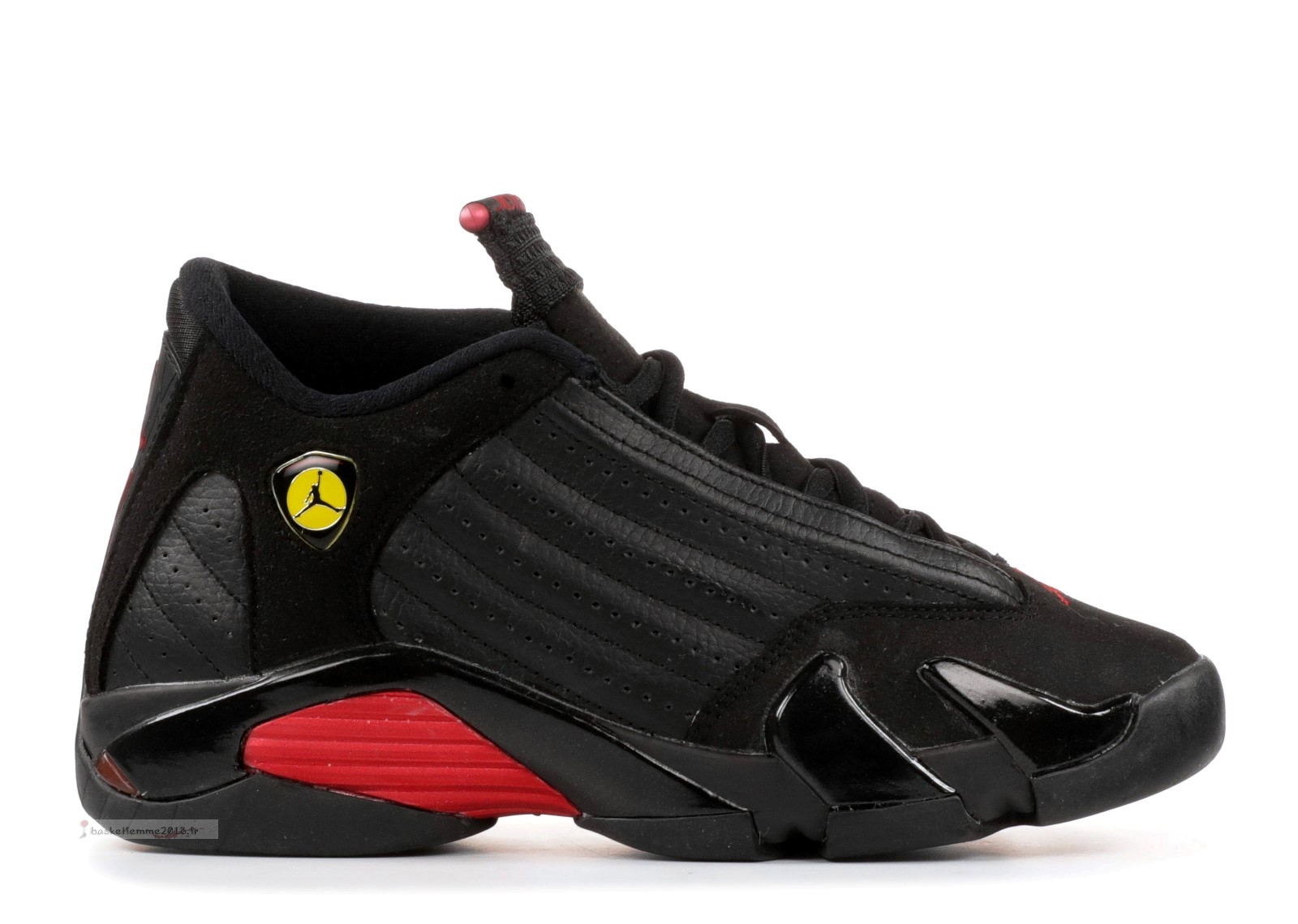 "Air Jordan 14 Retro (Gs) ""Last Shot 2011 Release"" Noir Rouge (312091-010) Chaussure de Basket"