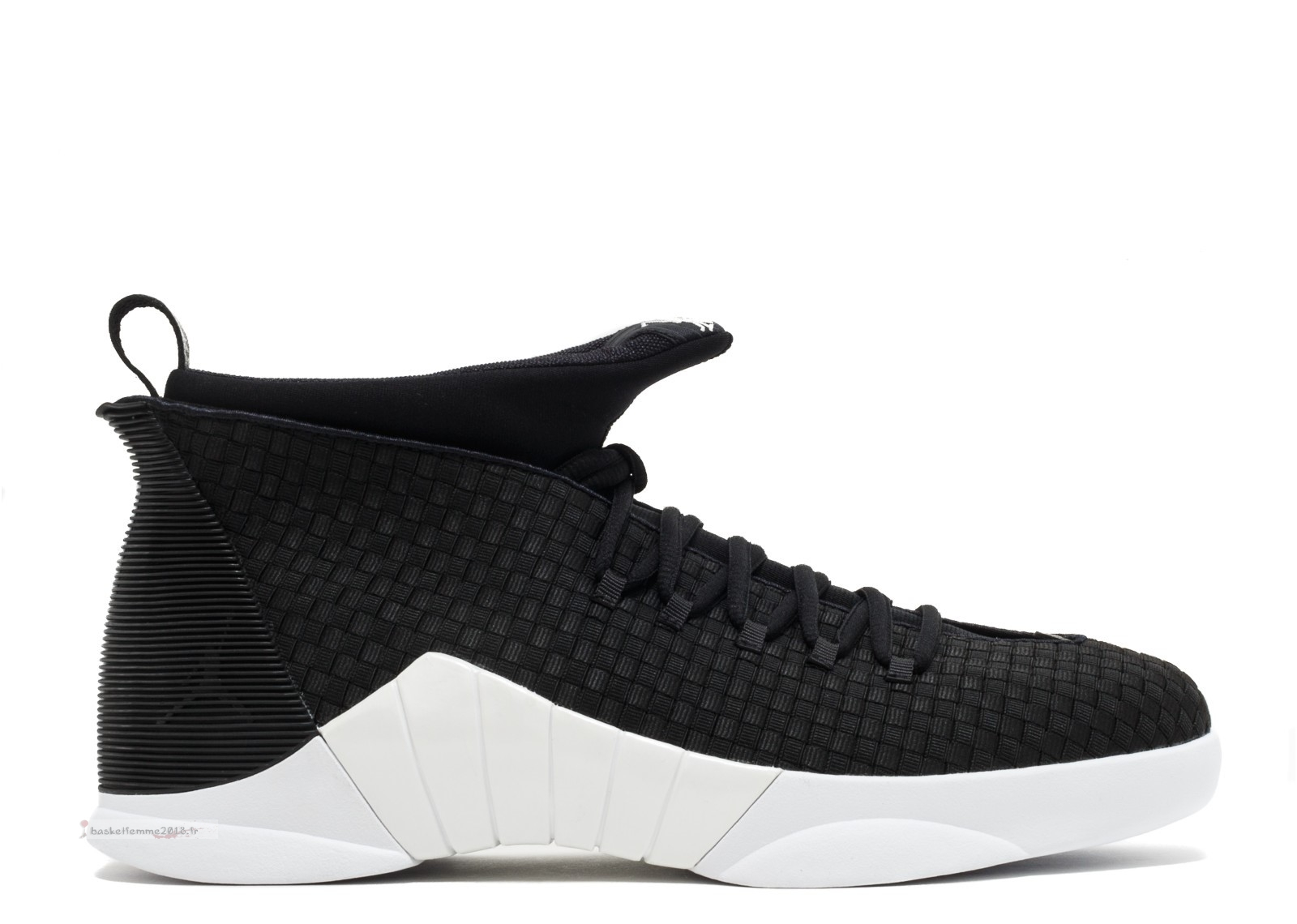 "Air Jordan 15 Retro ""Wvn Psny Friends And Family"" Noir Blanc (fa17mnjdls123781485) Chaussure de Basket"