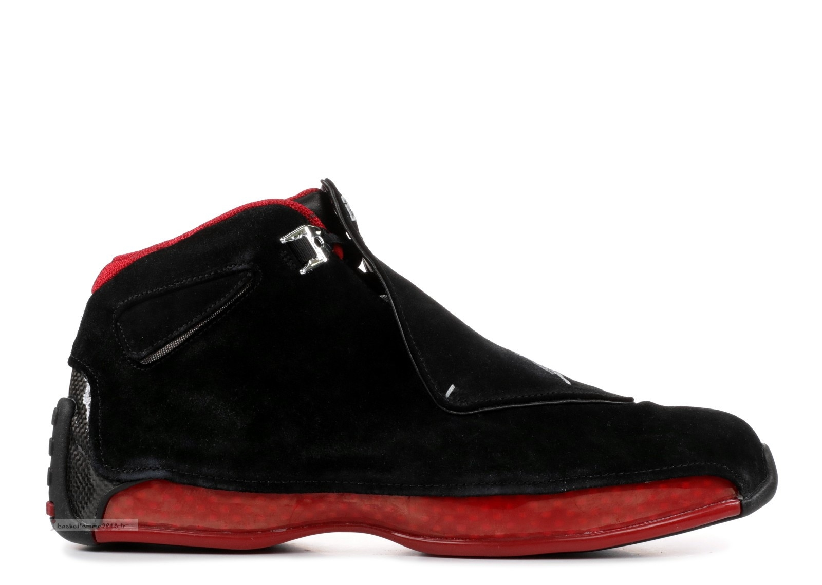 "Air Jordan 18 Retro ""Countdown Pack"" Noir Rouge (332548-061) Chaussure de Basket"