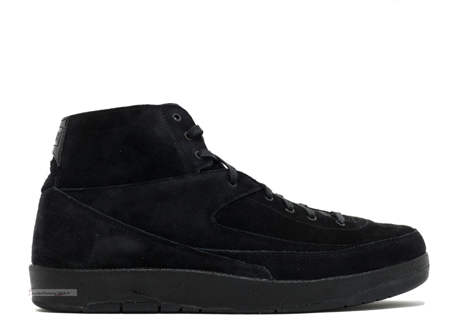 Air Jordan 2 Retro Decon Noir (897521-010) Chaussure de Basket