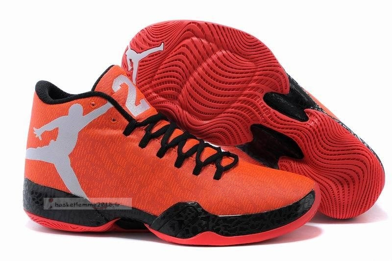 "Air Jordan 29 ""Infrared 23"" Orange Noir Blanc Chaussure de Basket"