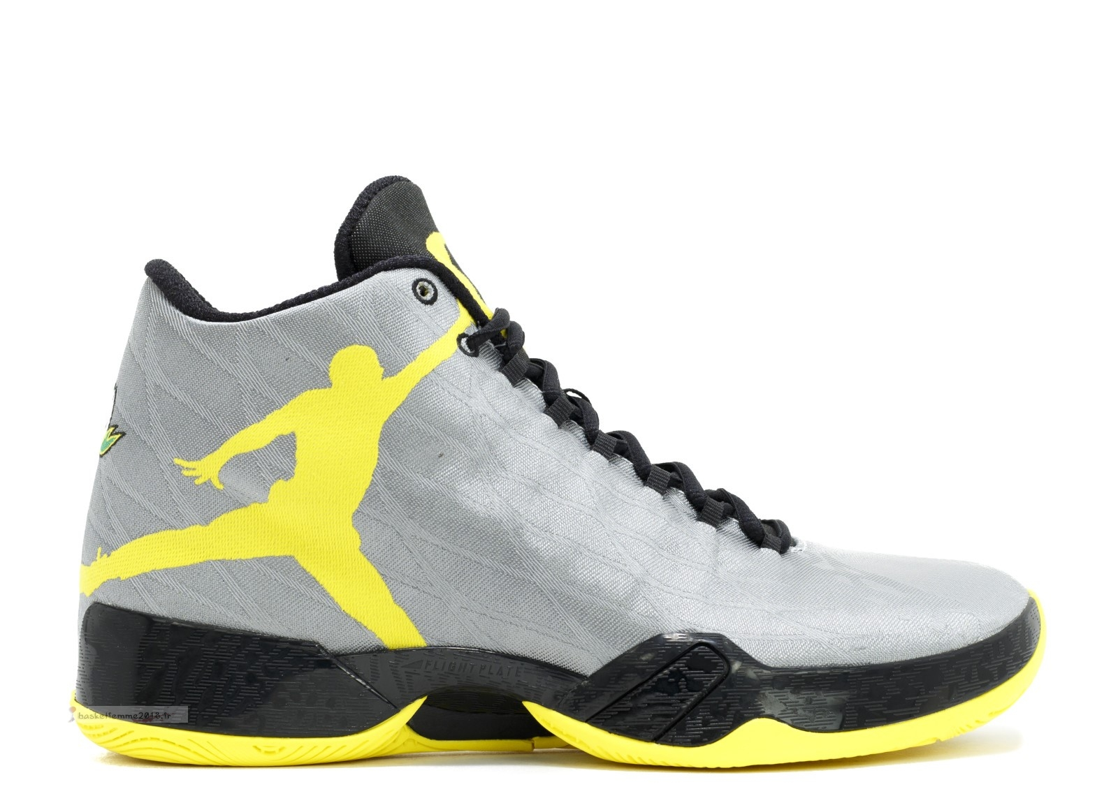 "Air Jordan 29 Pe ""Oregon Ducks"" Gris Jaune (fa14mnjdsp183) Chaussure de Basket"