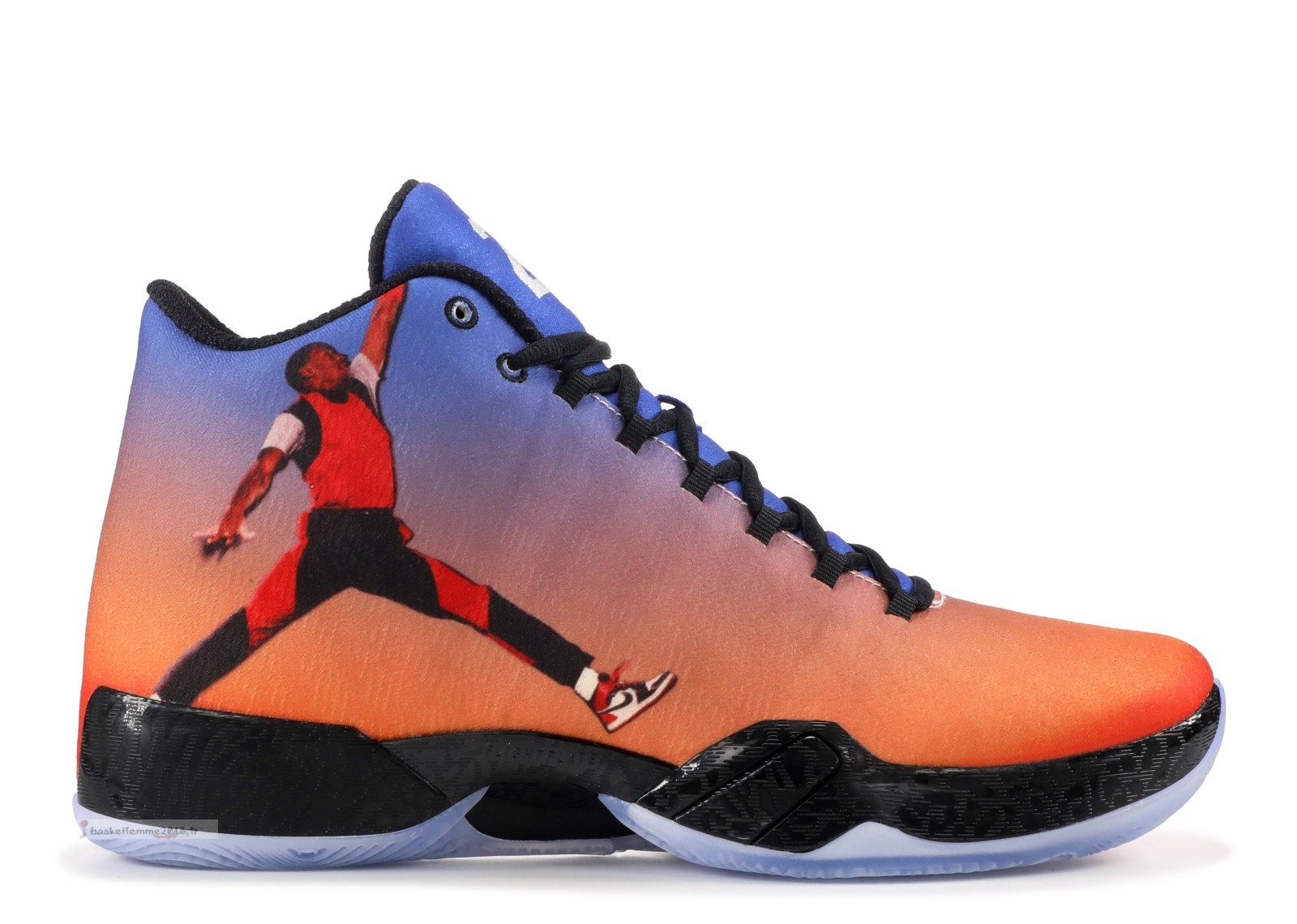 "Air Jordan 29 ""Photo Reel"" Orange (695515-806) Chaussure de Basket"