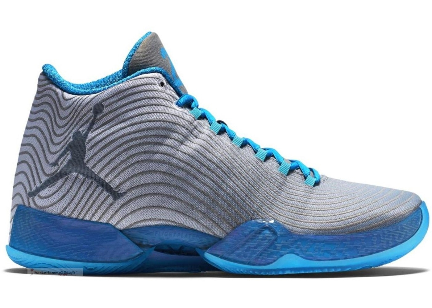 "Air Jordan 29 ""Playoff Pack Home"" Gris Bleu (749143-104) Chaussure de Basket"