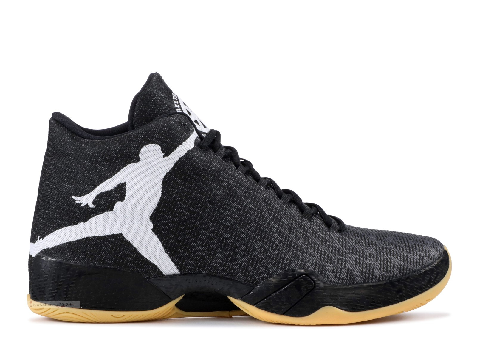 "Air Jordan 29 Q54 ""Quai 54"" Noir Blanc Marron (805254-004) Chaussure de Basket"