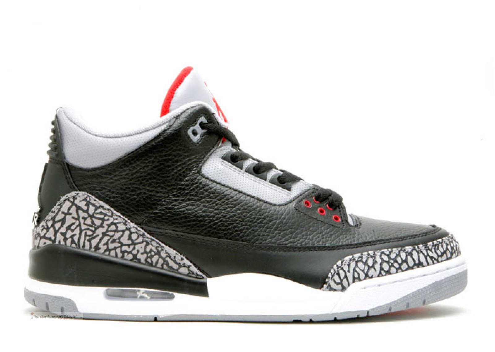 "Air Jordan 3 Retro ""Countdown Pack"" Noir Gris (340254-061) Chaussure de Basket"