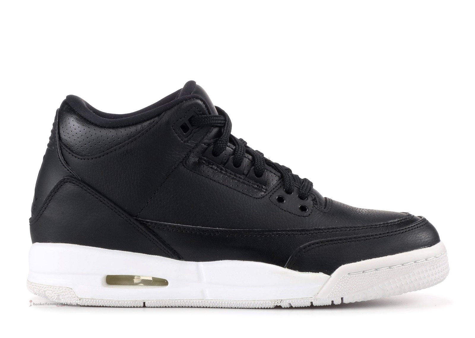 "Air Jordan 3 Retro (Gs) ""Cyber Monday"" Noir (398614-020) Chaussure de Basket"