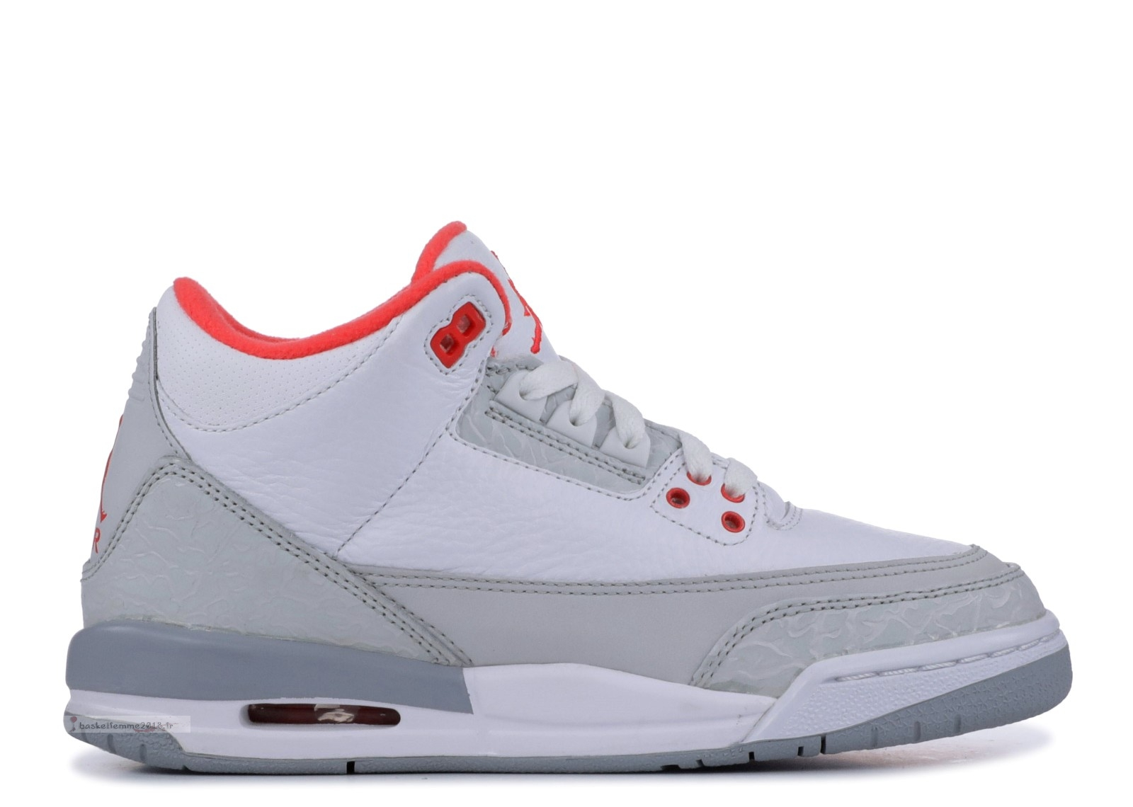 Air Jordan 3 Retro (Gs) Gris (441140-101) Chaussure de Basket