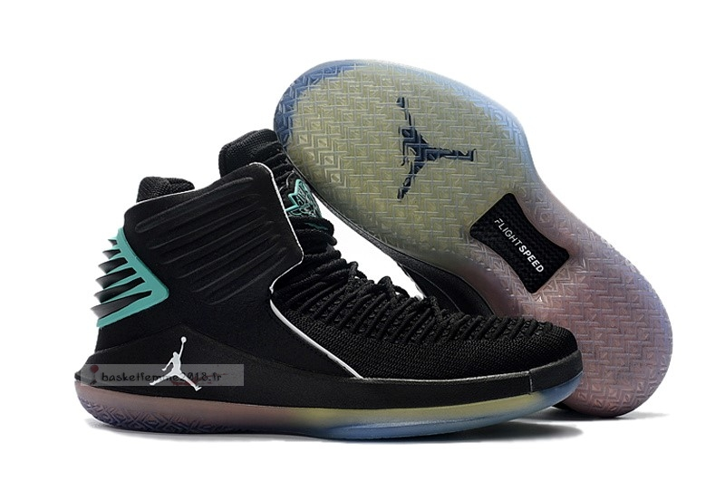 Air Jordan 32 Ceo Hornets Noir Sarcelle Chaussure de Basket