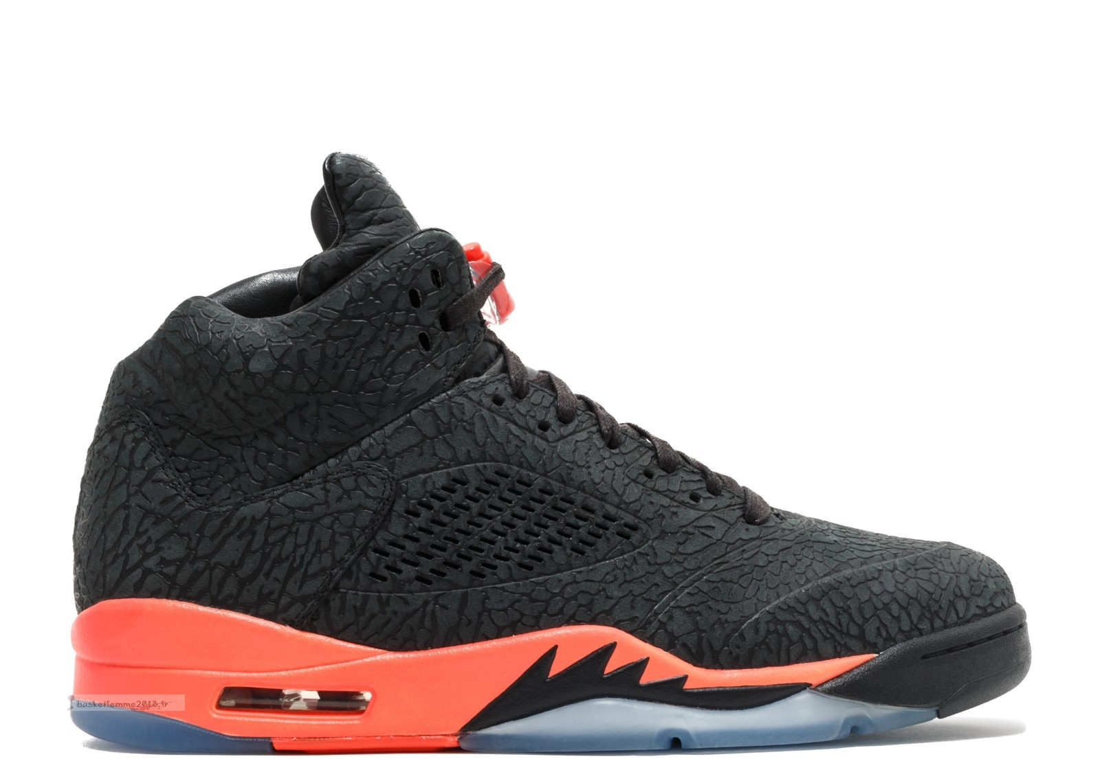 "Air Jordan 5 Retro ""3Lab5"" Noir Orange (599581-010) Chaussure de Basket"