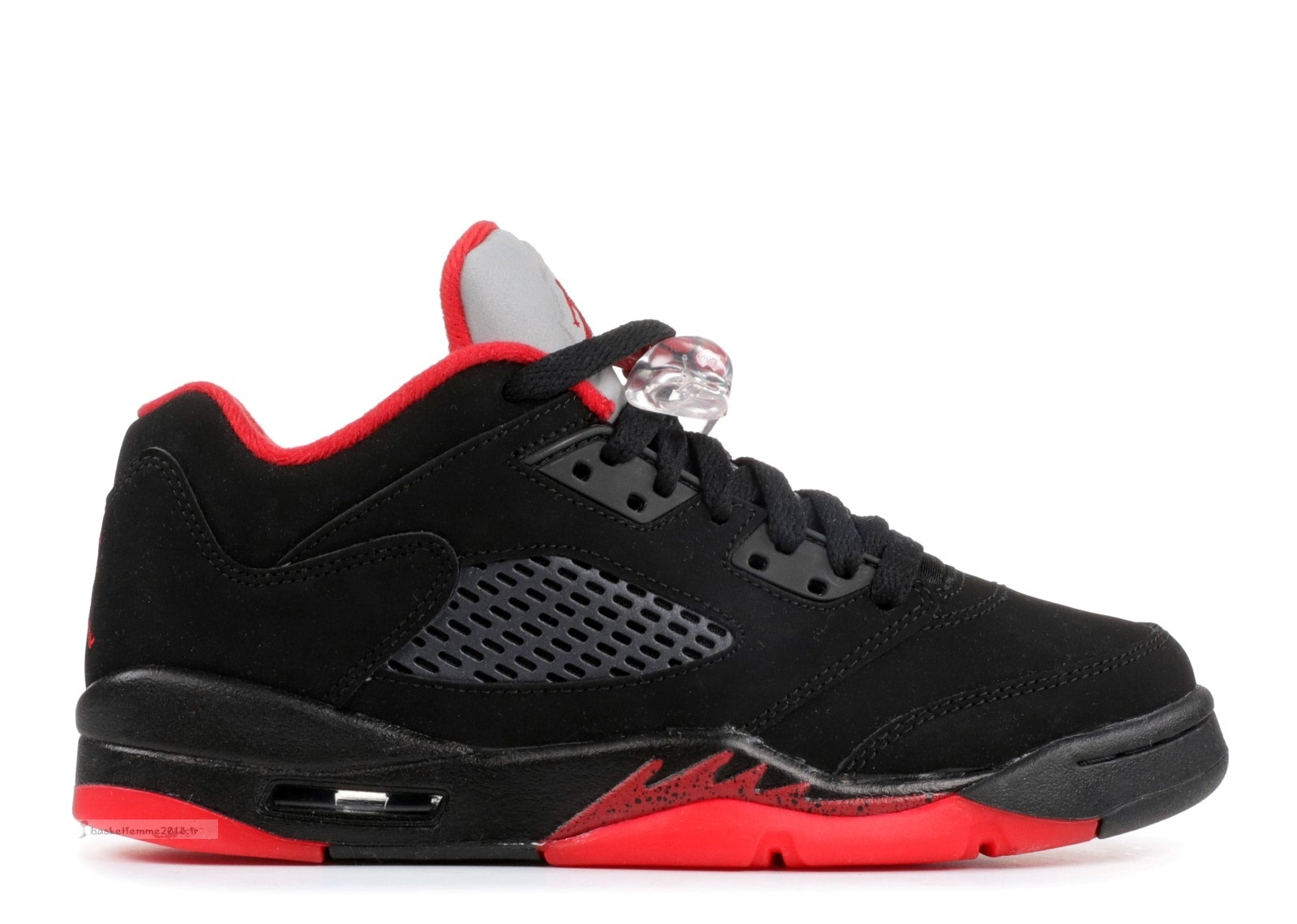 "Air Jordan 5 Retro Low (Gs) ""Alternate 90"" Noir Rouge (314338-001) Chaussure de Basket"