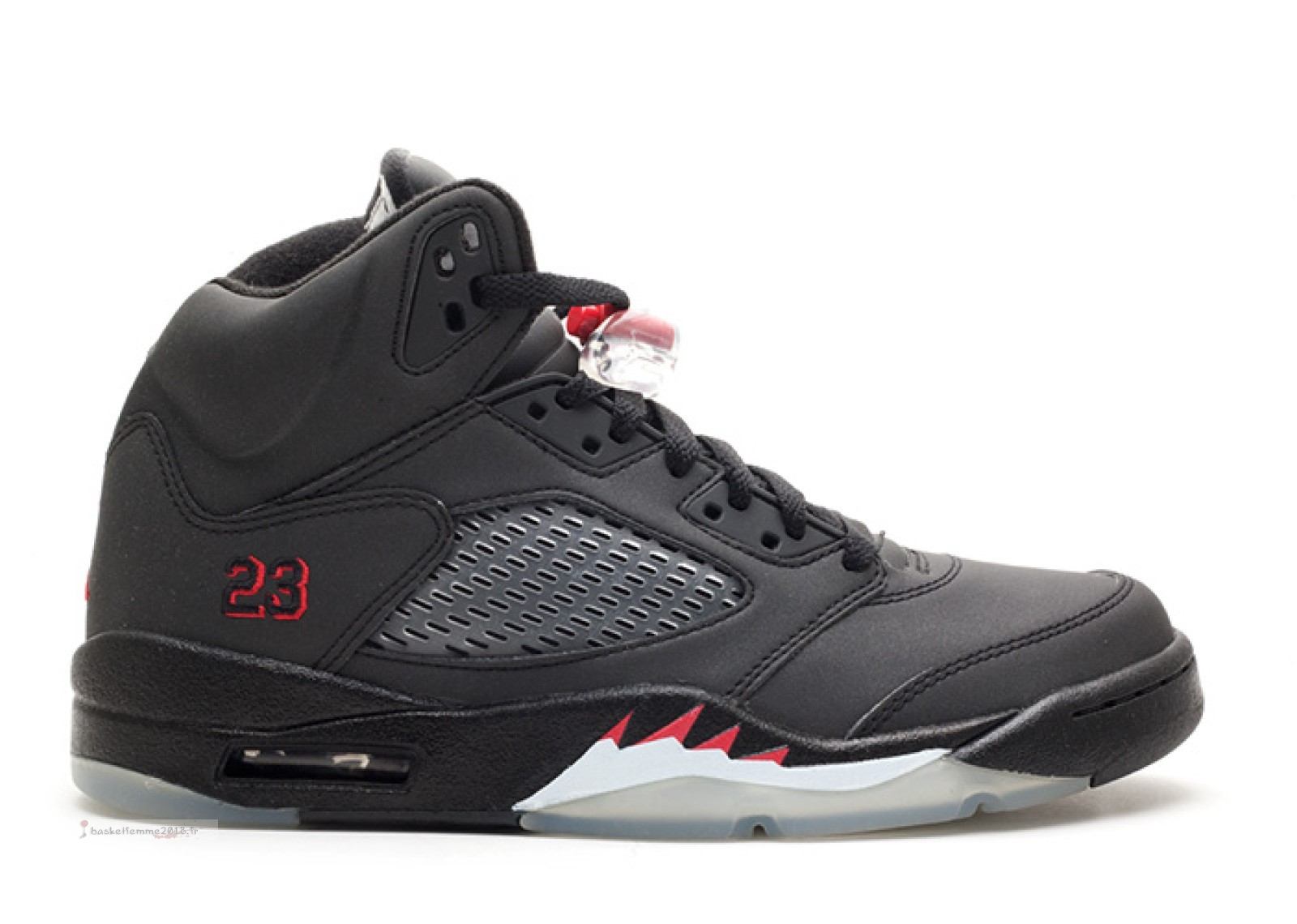 "Air Jordan 5 Retro ""Raging Bull 3M"" Noir (136027-061) Chaussure de Basket"