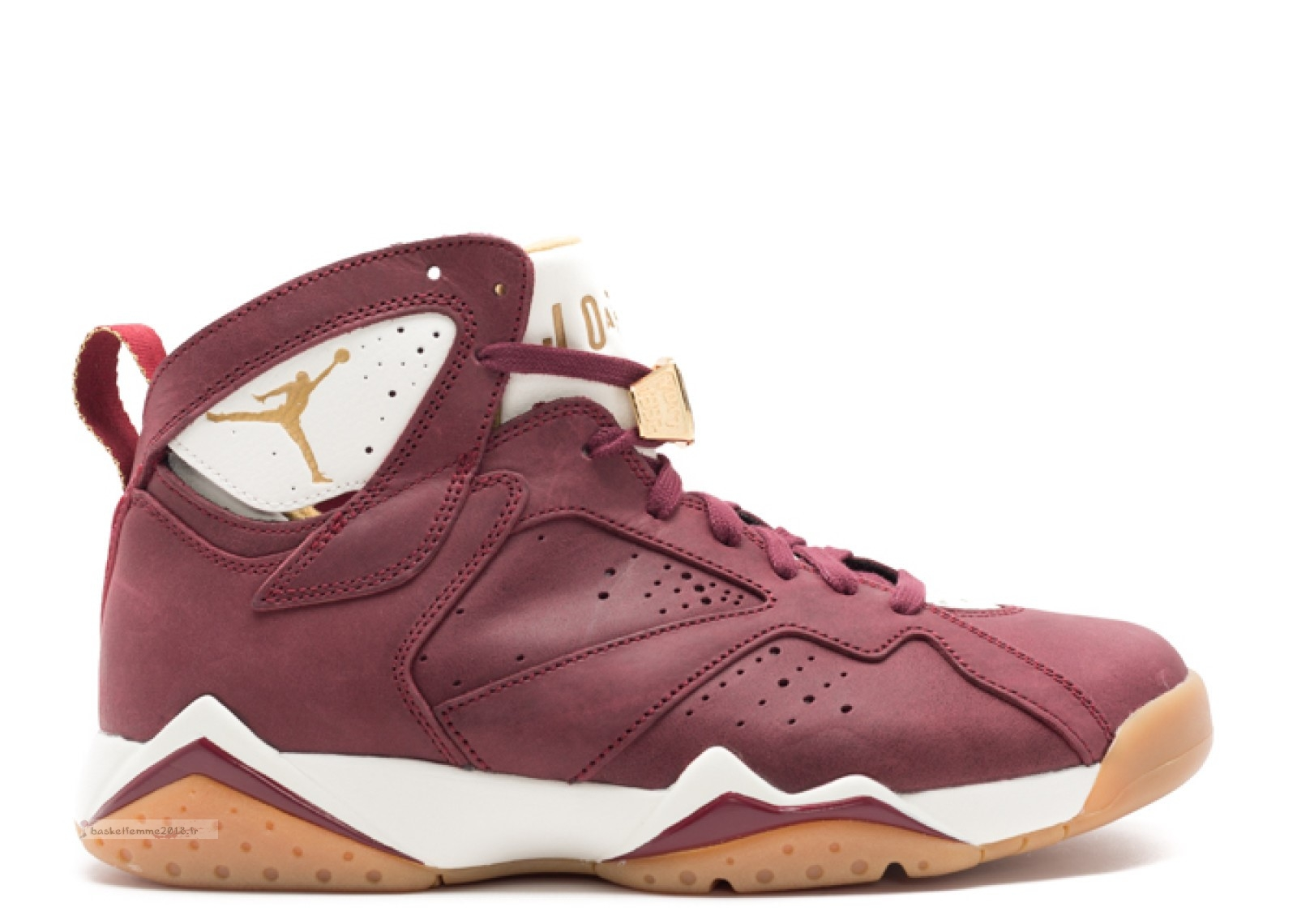 "Air Jordan 7 Retro C&C ""Cigar"" Rouge (725093-630) Chaussure de Basket"
