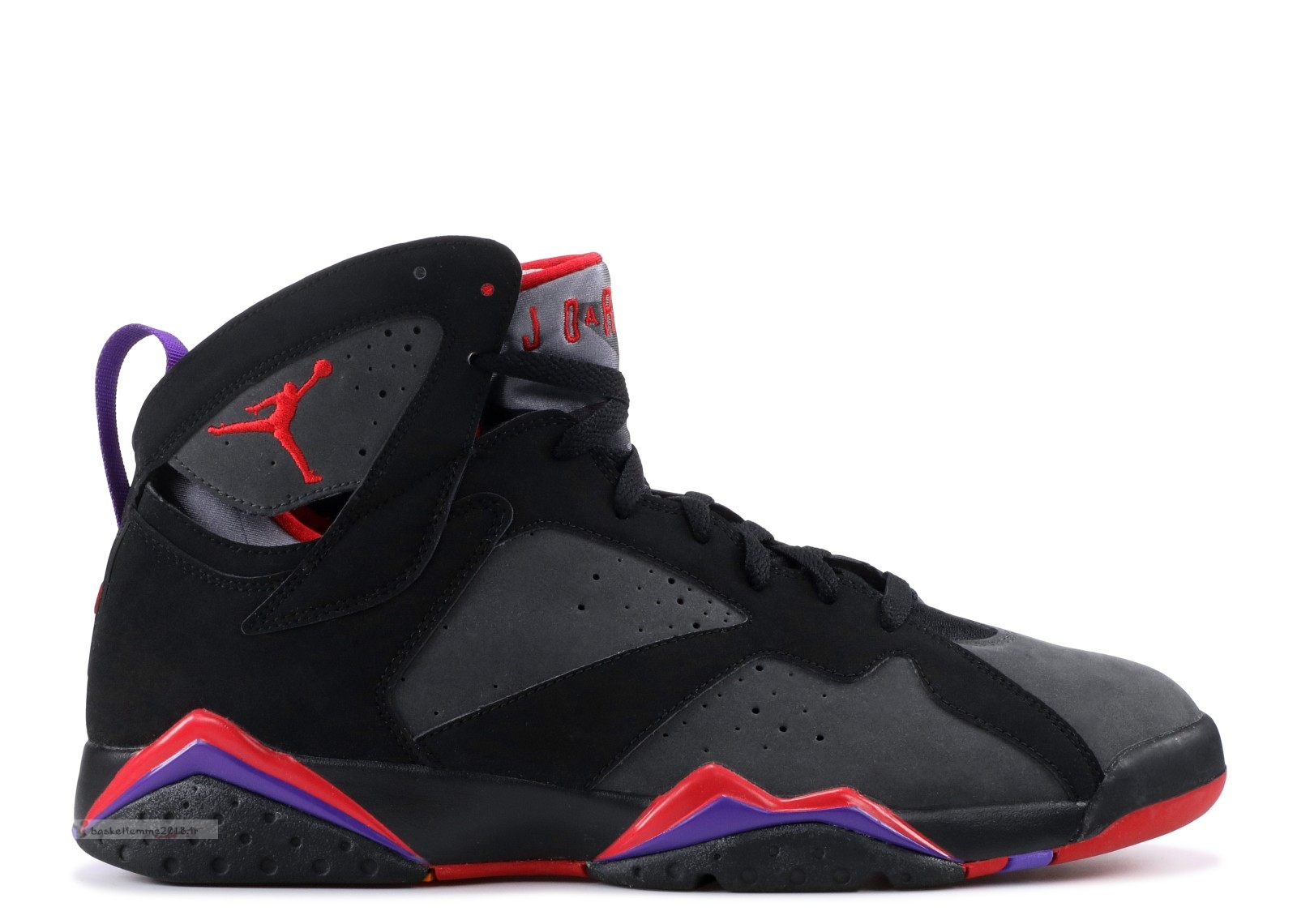 "Air Jordan 7 Retro ""Defining Moments"" Noir Rouge (304775-043) Chaussure de Basket"