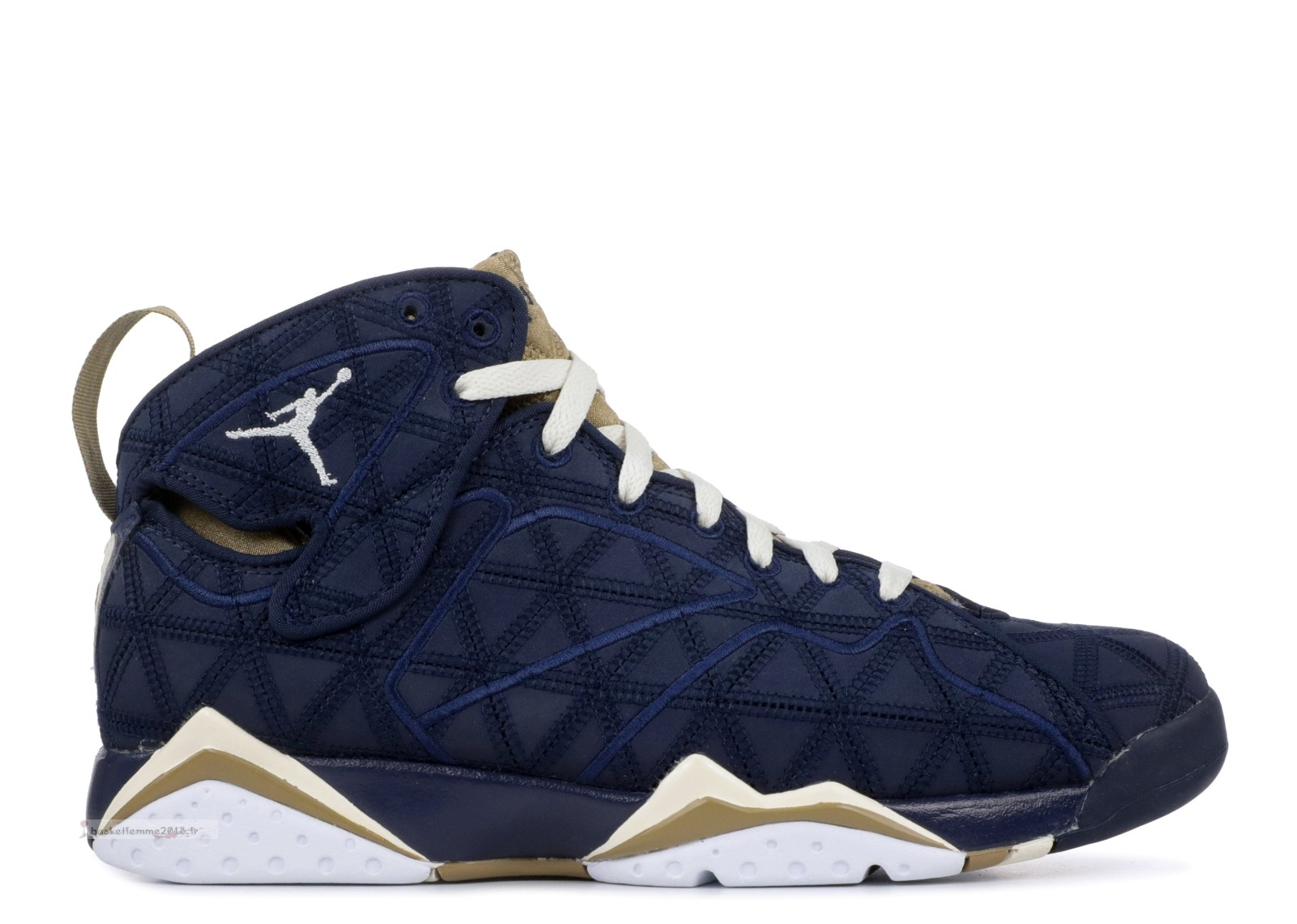 "Air Jordan 7 Retro J2K ""J2K"" Noir Or (543560-415) Chaussure de Basket"