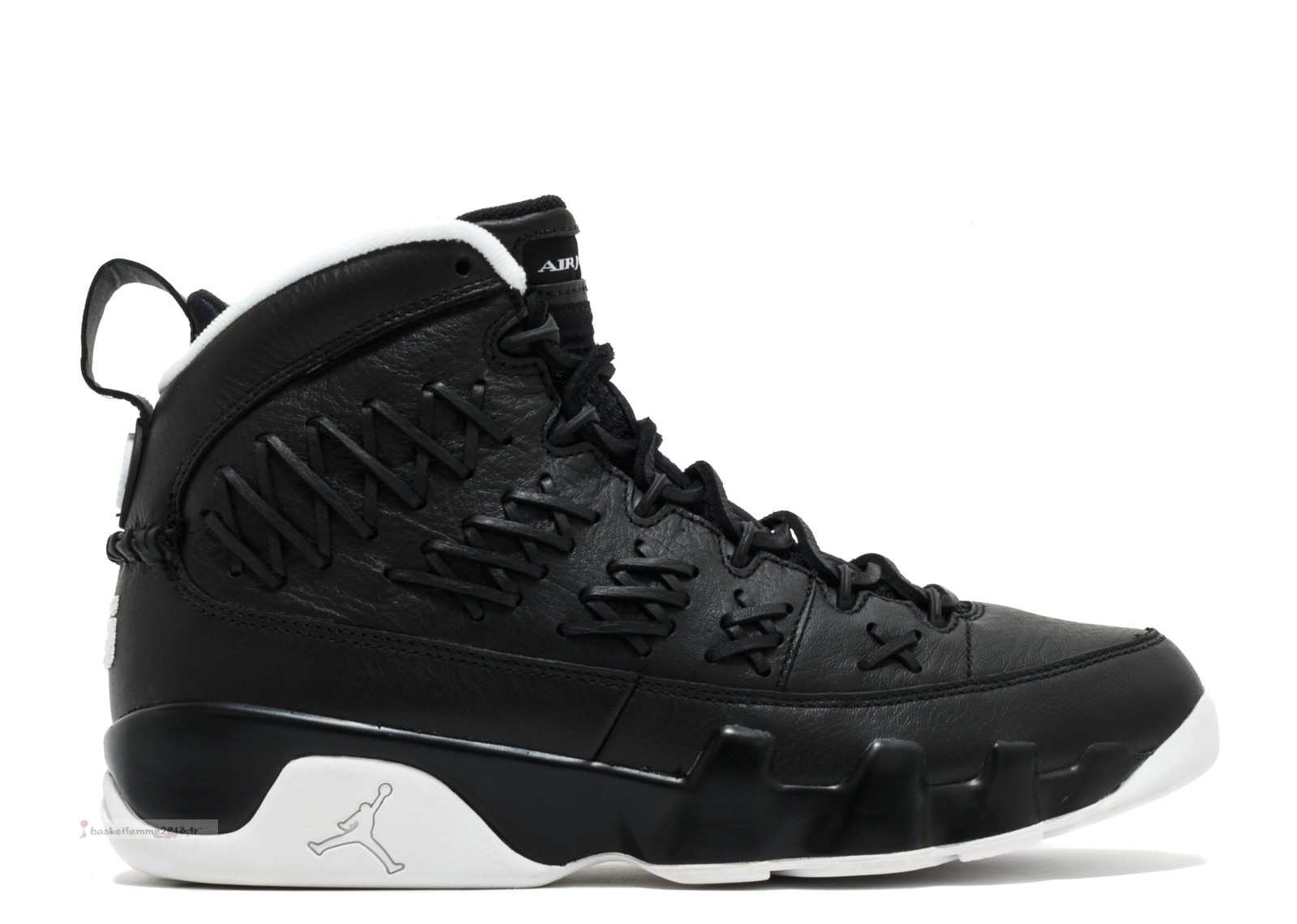Air Jordan 9 Ret Pinnacle Pack Noir Blanc (ah6233-903) Chaussure de Basket