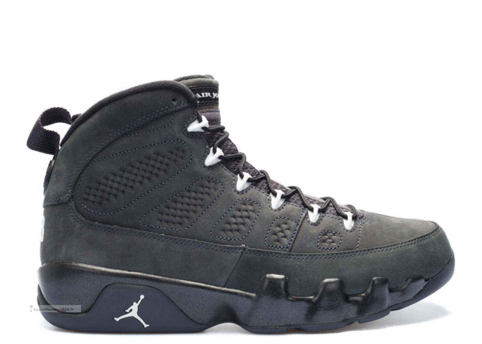 "Air Jordan 9 Retro ""Anthracite"" Noir (302370-013) Chaussure de Basket"