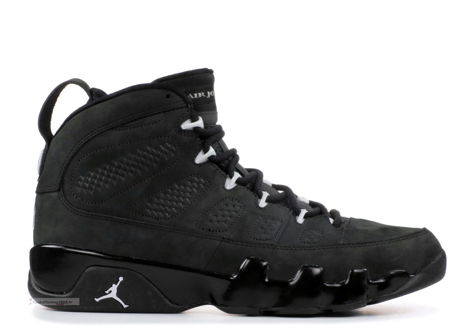 "Air Jordan 9 Retro ""Oregon Ducks"" Noir Blanc (fa10m-jorda835231799) Chaussure de Basket"