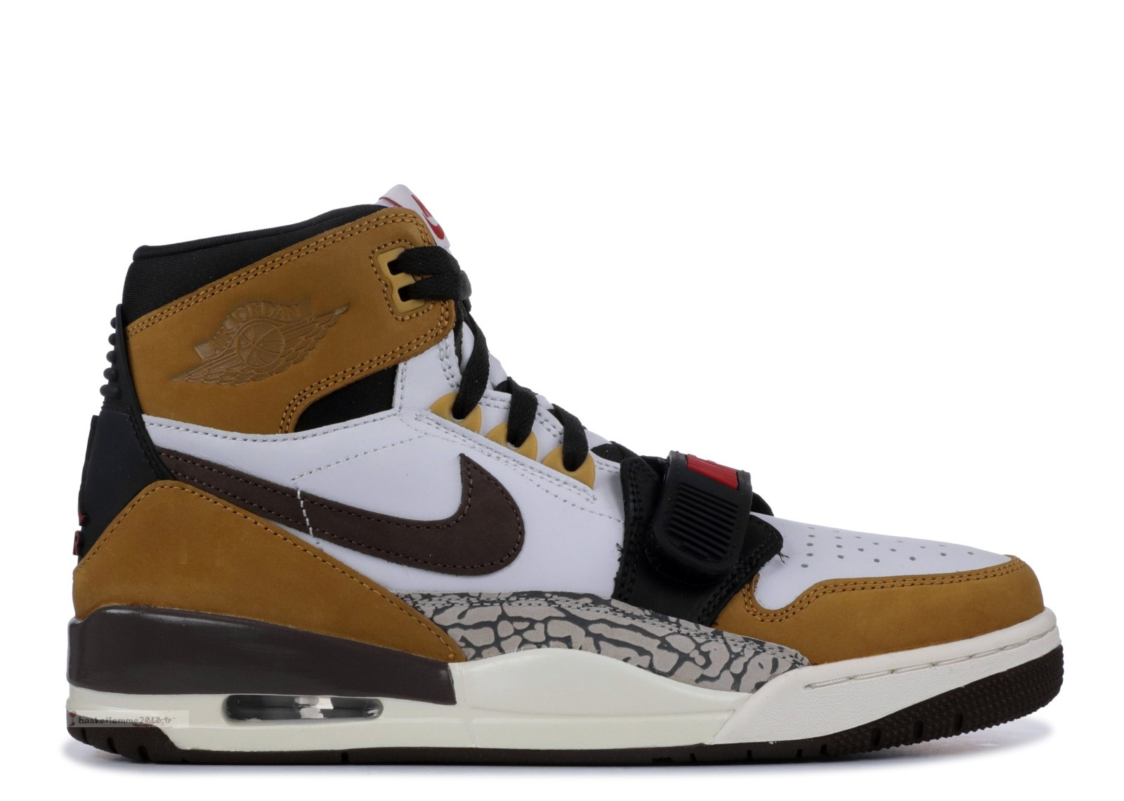 "Air Jordan Legacy 312 ""Rookie Of The Year"" Blanc Marron (av3922-102) Chaussure de Basket"