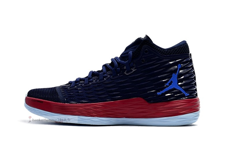 Air Jordan Melo M13 Marine Rouge (881562-406) Chaussure de Basket