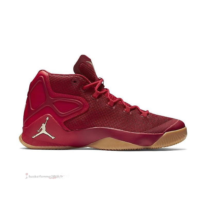 "Air Jordan Men Melo M12 ""Big Apple"" Rouge (827176-696) Chaussure de Basket"