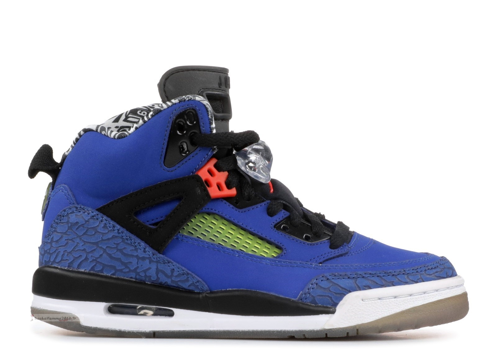"Air Jordan Spiz'Ike (Gs) ""New York Knicks"" Bleu (317321-405) Chaussure de Basket"