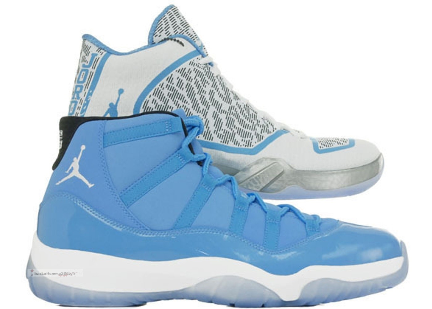 Air Jordan Ultimate Gift Of Flight Pack (11/29) Blanc Bleu (717602-900) Chaussure de Basket