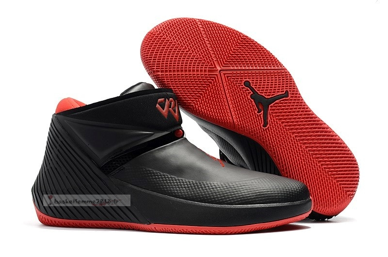 "Jordan Why Not Zer0.1 ""Bred"" Noir Rouge Chaussure de Basket"