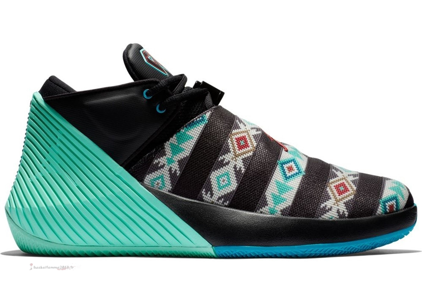 Jordan Why Not Zer0.1 Low N7 Noir Vert (bq2383-001) Chaussure de Basket