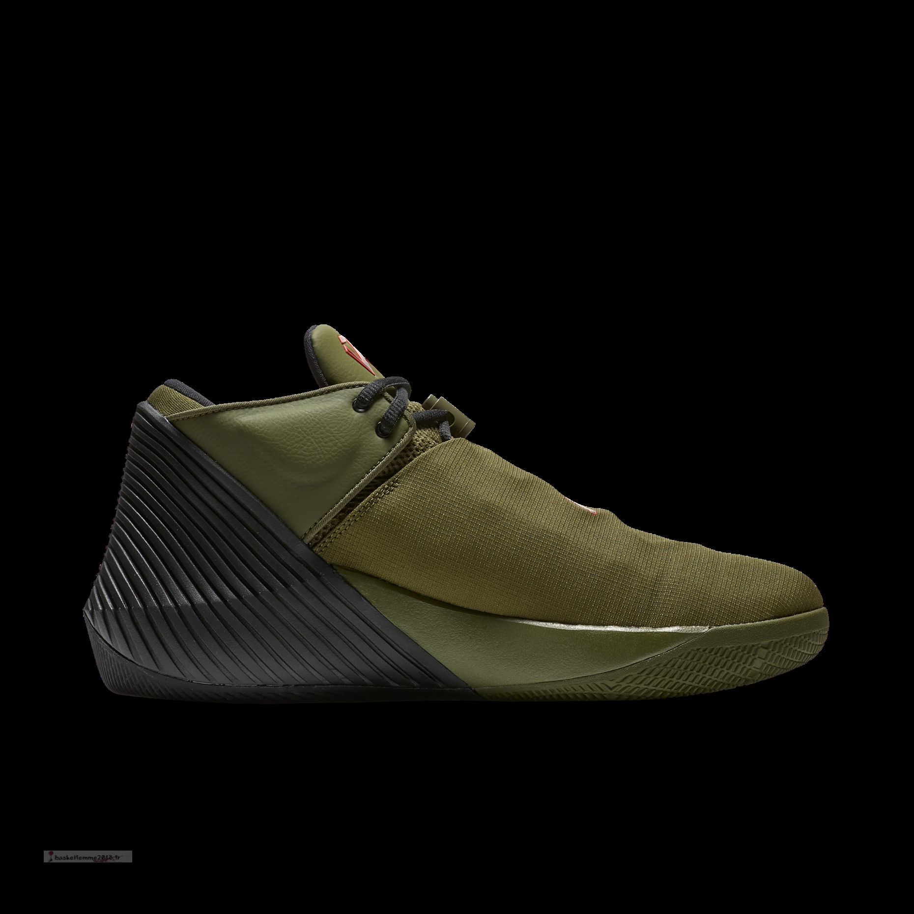Jordan Why Not Zer0.1 Low Pfx Olive (ar0346-300) Chaussure de Basket