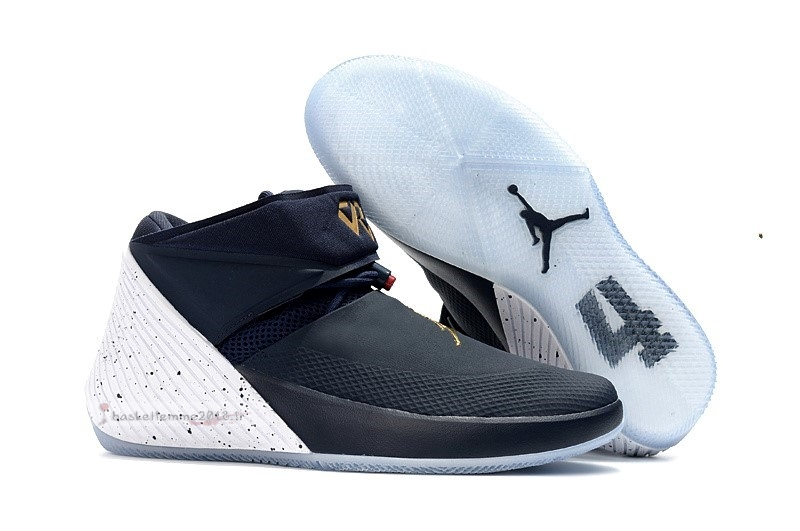 "Jordan Why Not Zer0.1 ""Tribute"" Marine Or Blanc (aa2510-431) Chaussure de Basket"