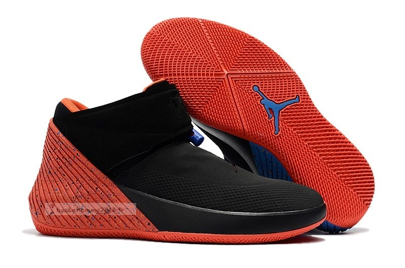 "Jordan Why Not Zer0.1 ""Triple Double"" Noir Orange (aa2510-015) Chaussure de Basket"