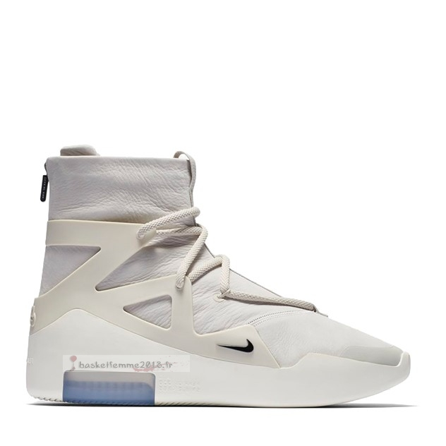 "Nike Air Fear Of God 1 ""Light Bone"" Blanc (ar4237-002) Chaussure de Basket"