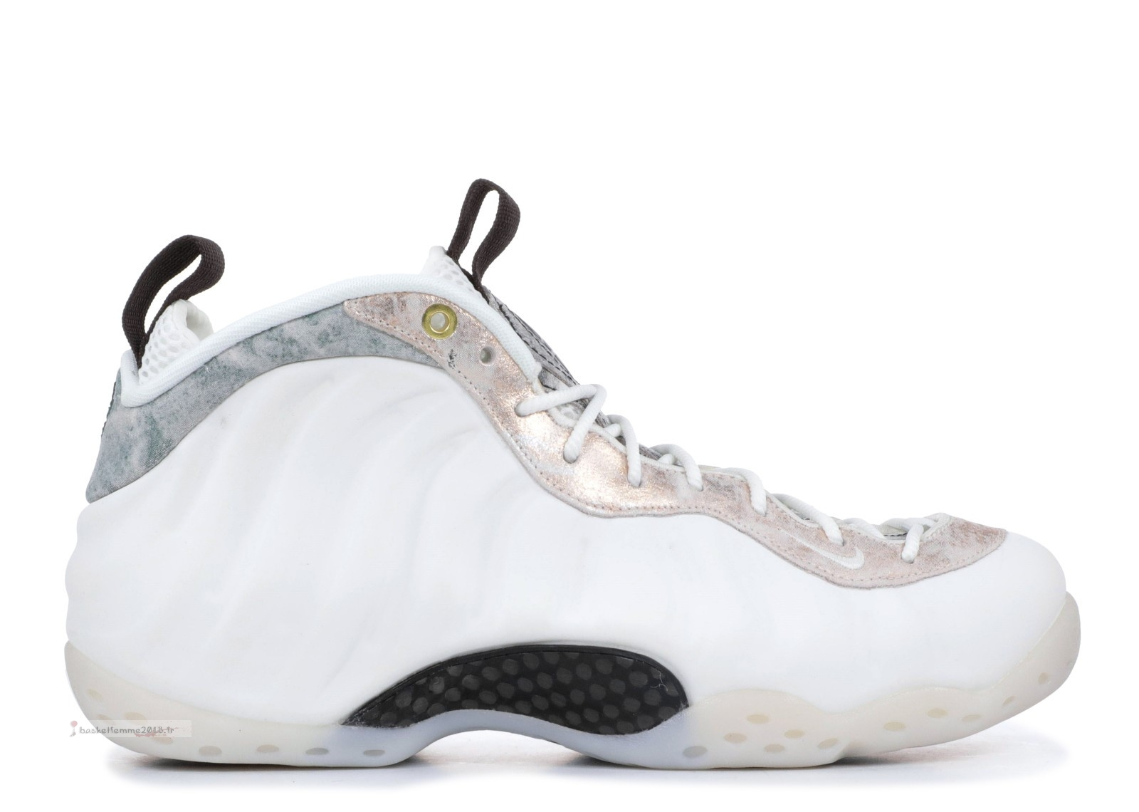 Nike Air Foamposite One Femme Blanc (aa3963-101) Chaussure de Basket